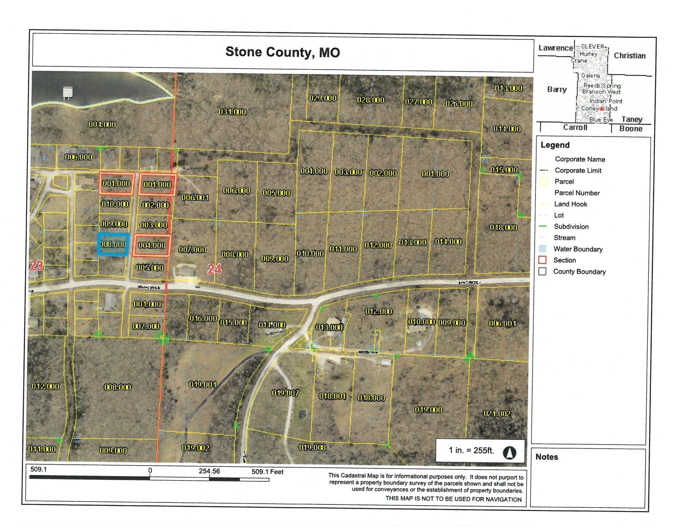Lot 13 Blue Water Village Reeds Spring, MO 65737