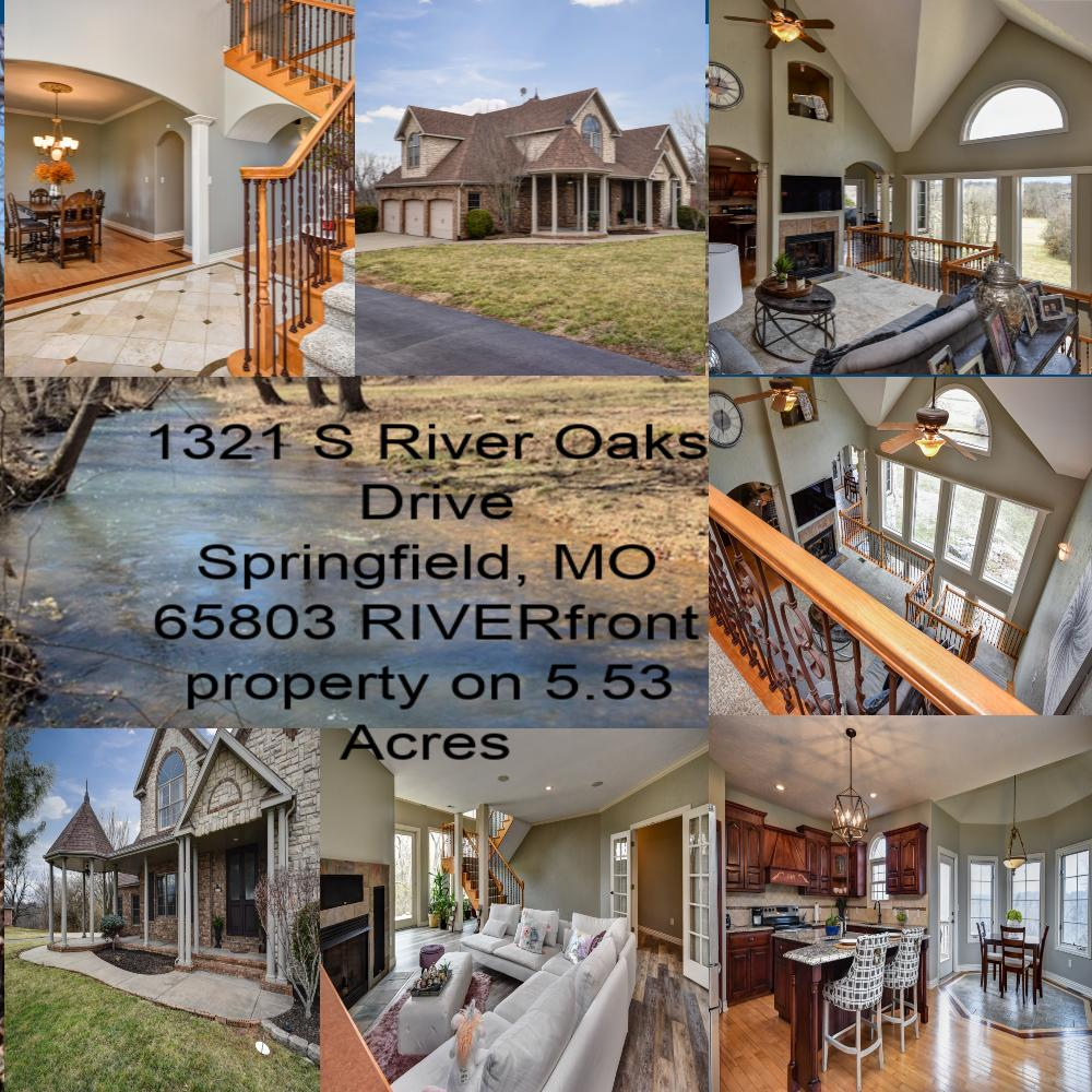 1321 East River Oak Drive Springfield, MO 65803
