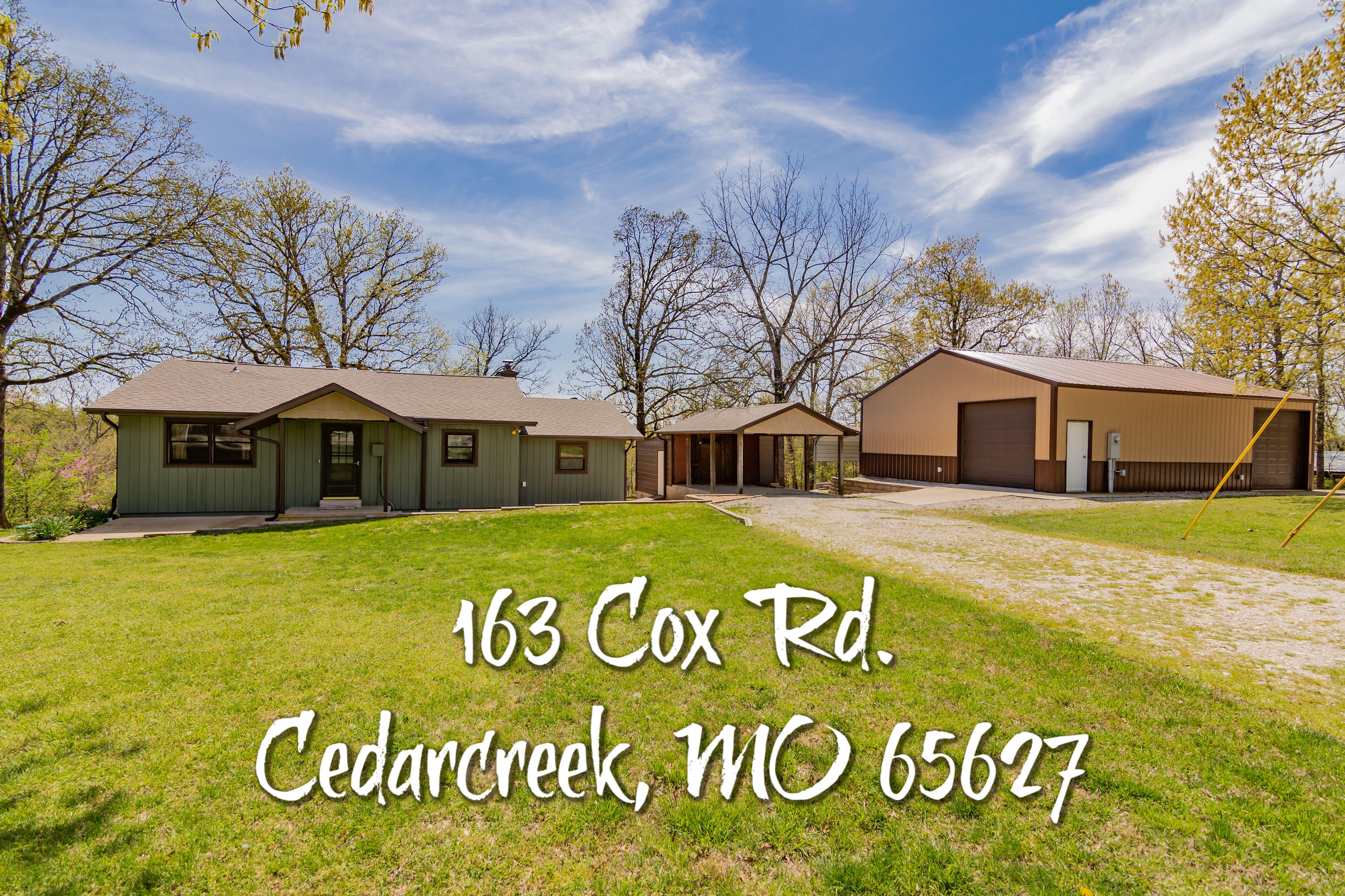 163 Cox Road Cedar Creek, MO 65627