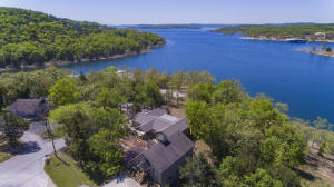 Tablerock Lake Frontage and View, end of road