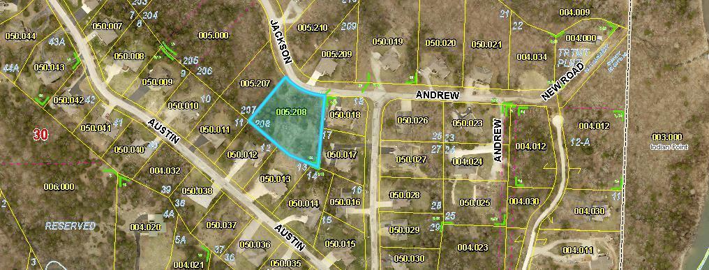 Lot 208 Jackson Lane Branson West, MO 65737
