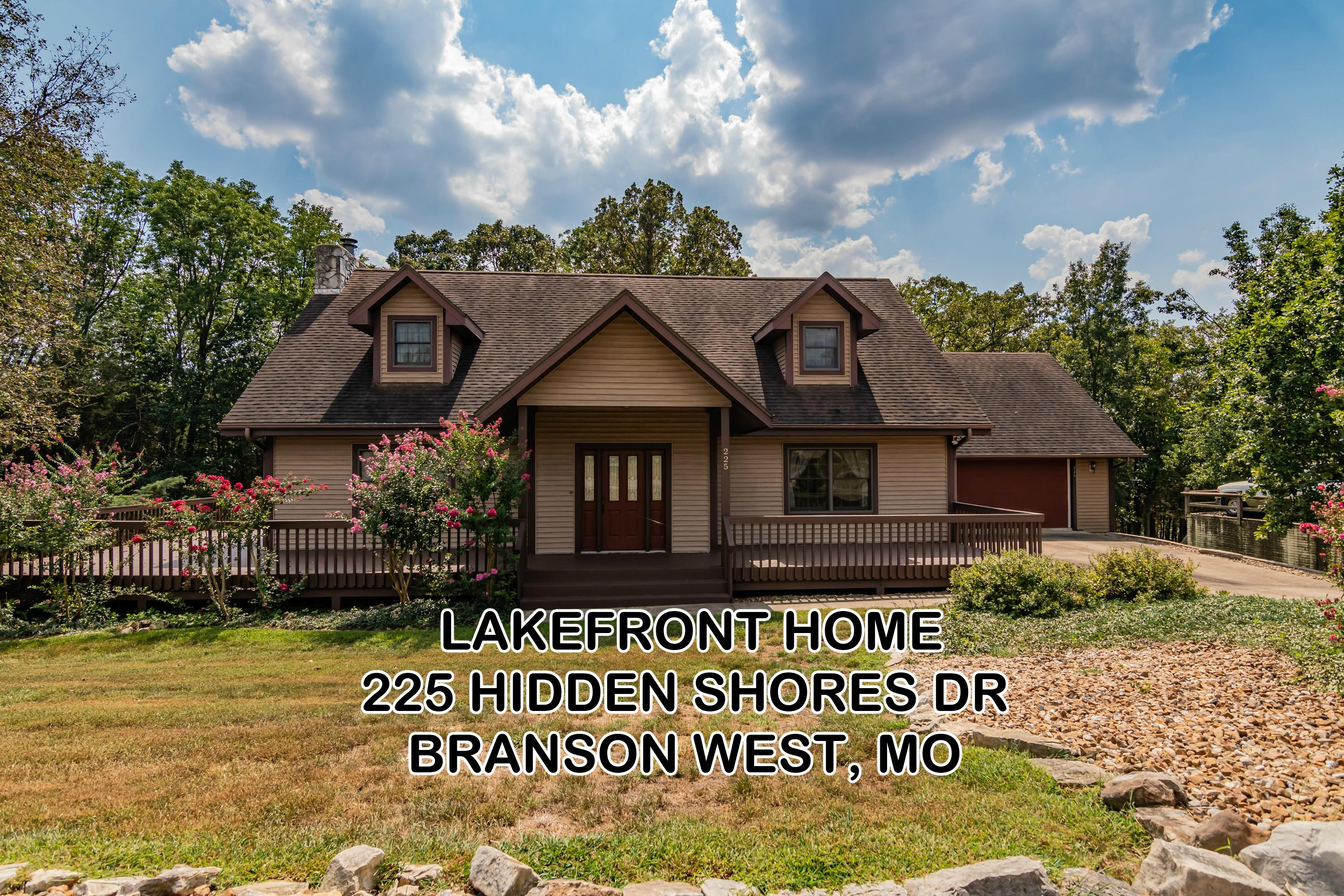 225 Hidden Shores Drive Branson West, MO 65737