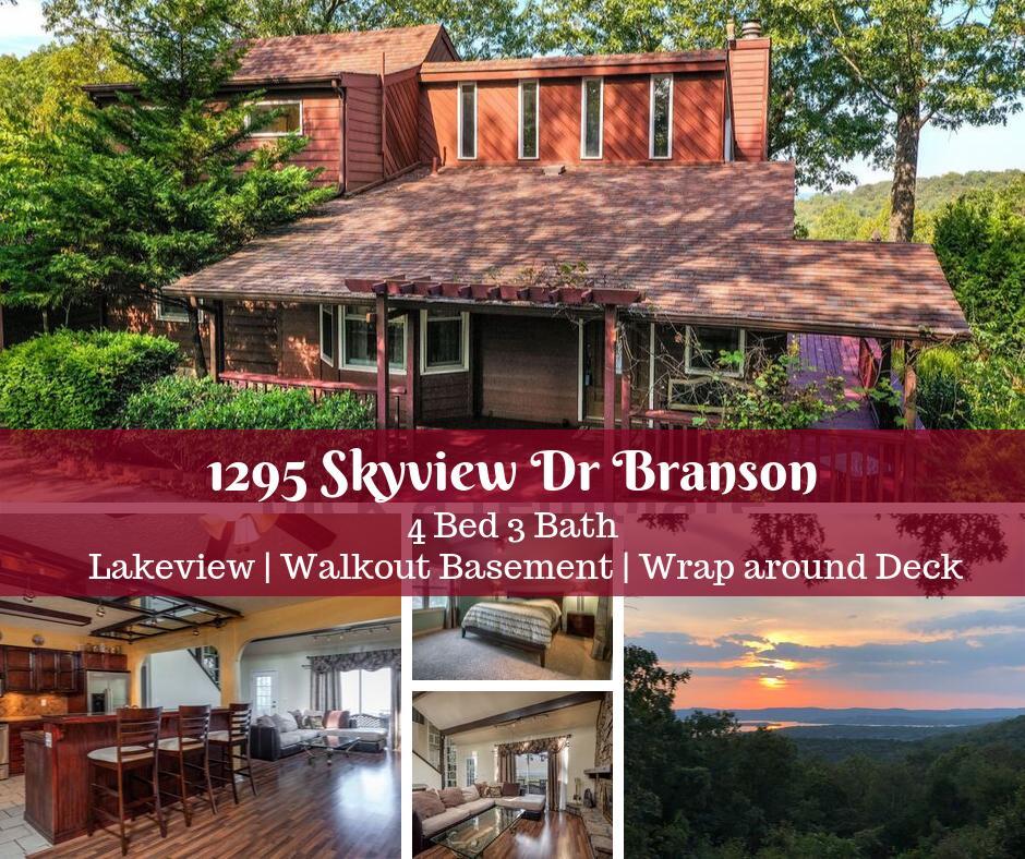 1295 Skyview Drive Branson, MO 65616