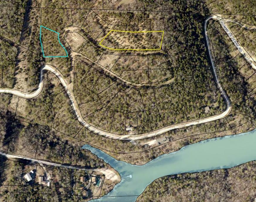 Lot & Lake Taneycomo Woods Branson, MO 65616