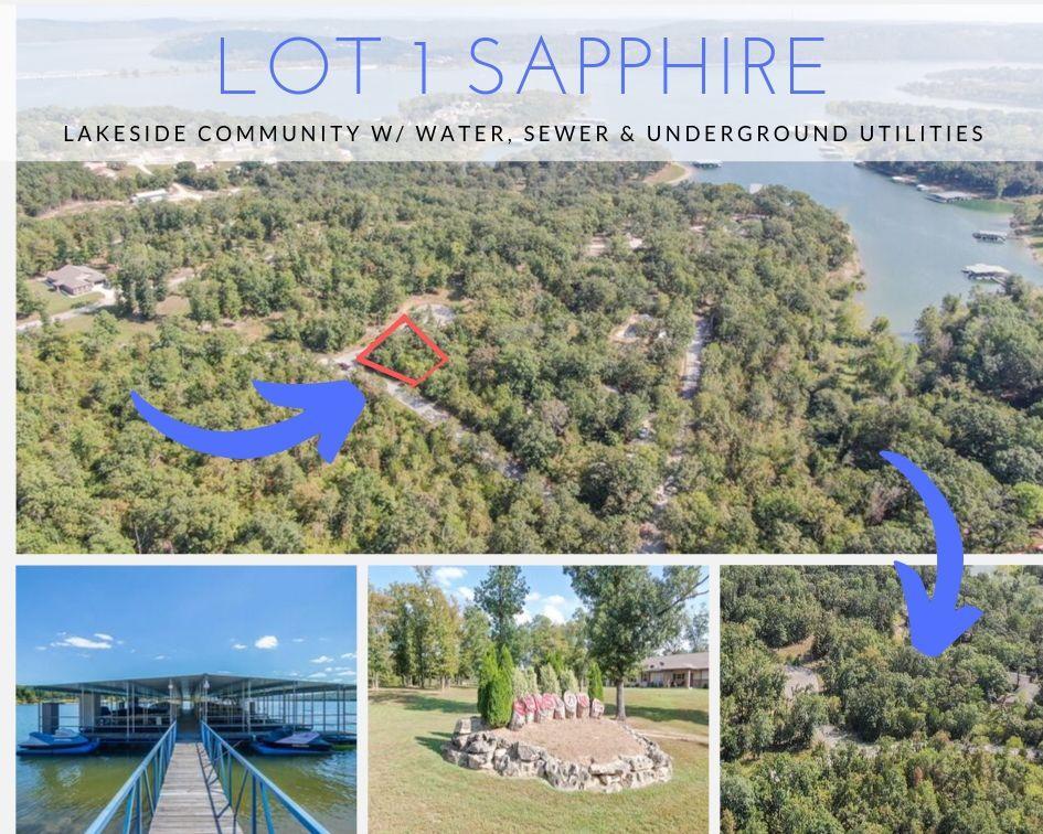Lot 1 Sapphire Kimberling City, MO 65686