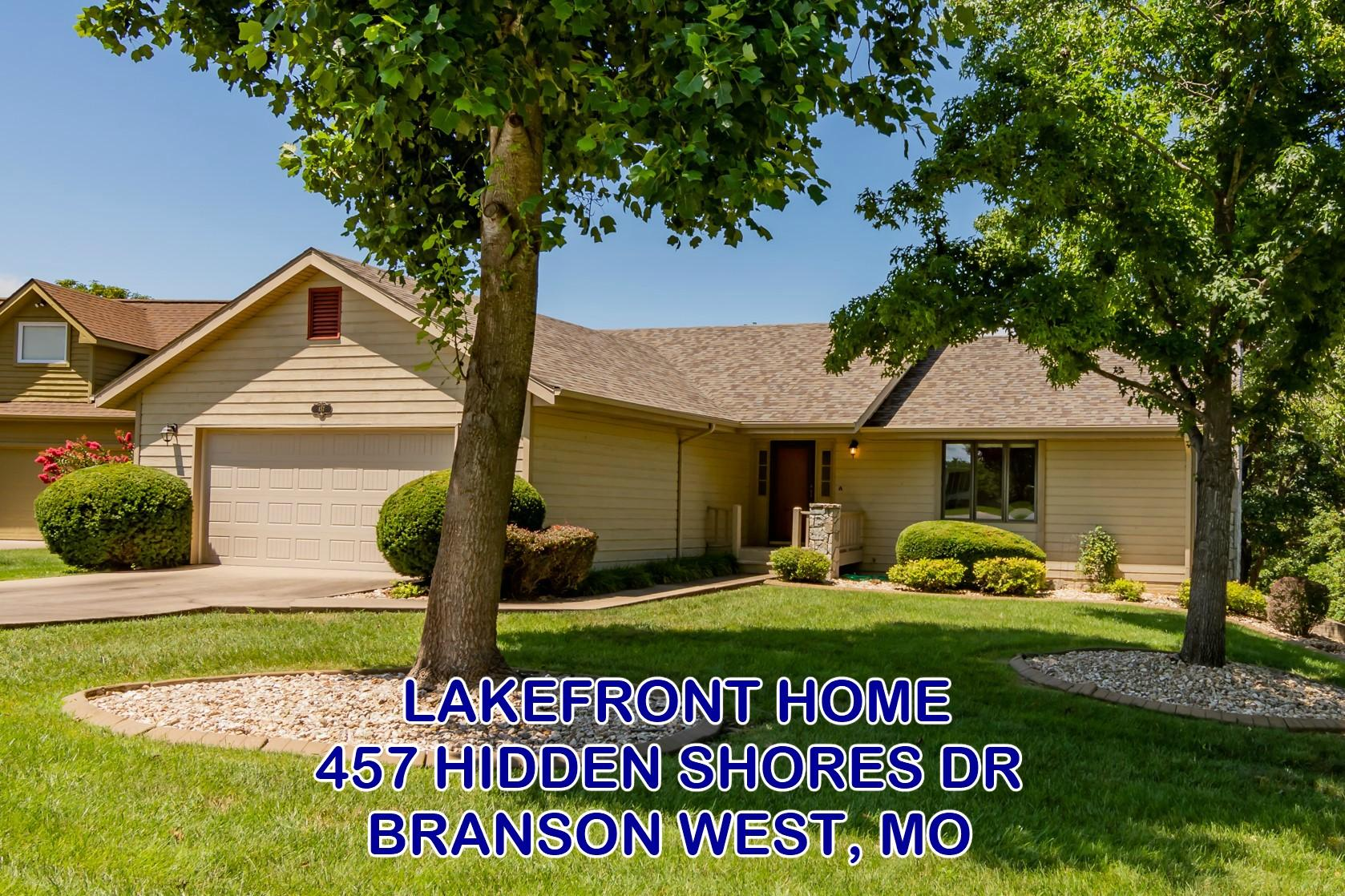457 Hidden Shores Drive Branson West, MO 65737