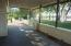 LARGE, COVERED PATIO AREA AND UNCOVERED PATIO AS WELL FOR AN EXPANSIVE OUTDOOR LIVING AREA.