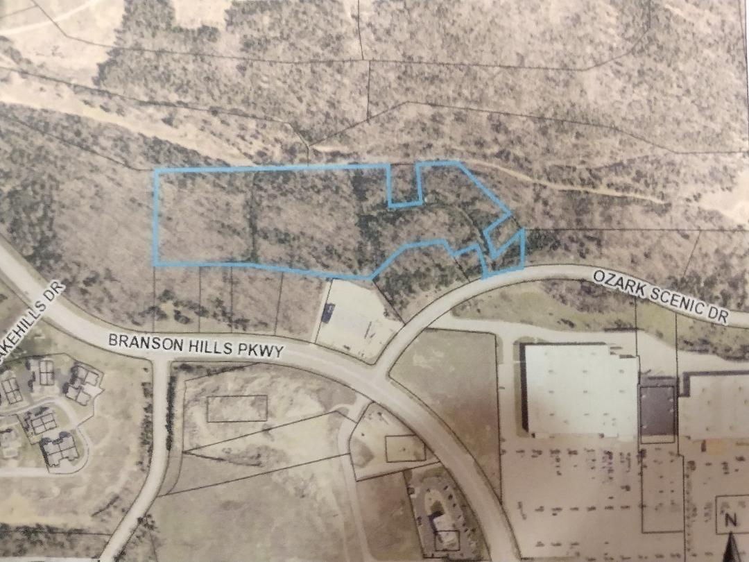 9.87 Acres Ozark Scenic Drive Branson, MO 65616