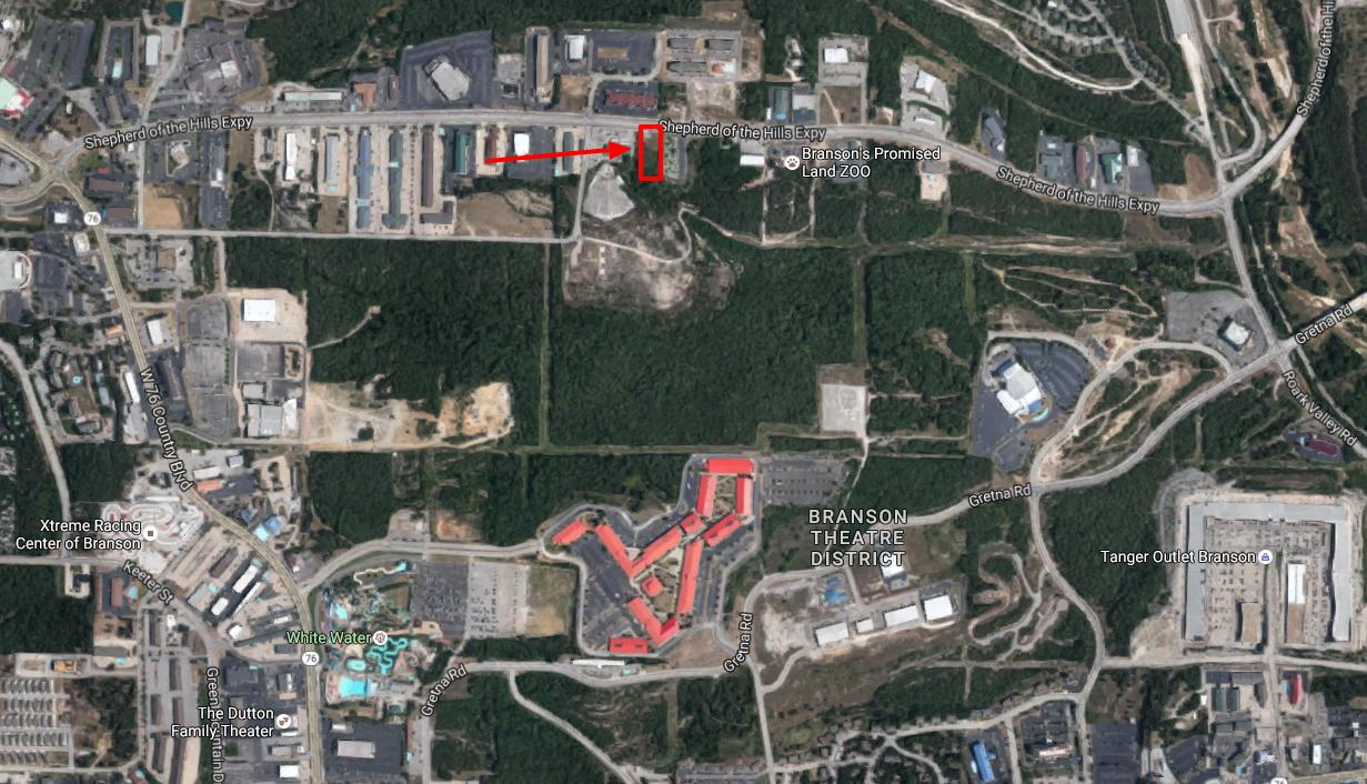 1.34 Acres Shepherd of the Hills Expressway Branson, MO 65616