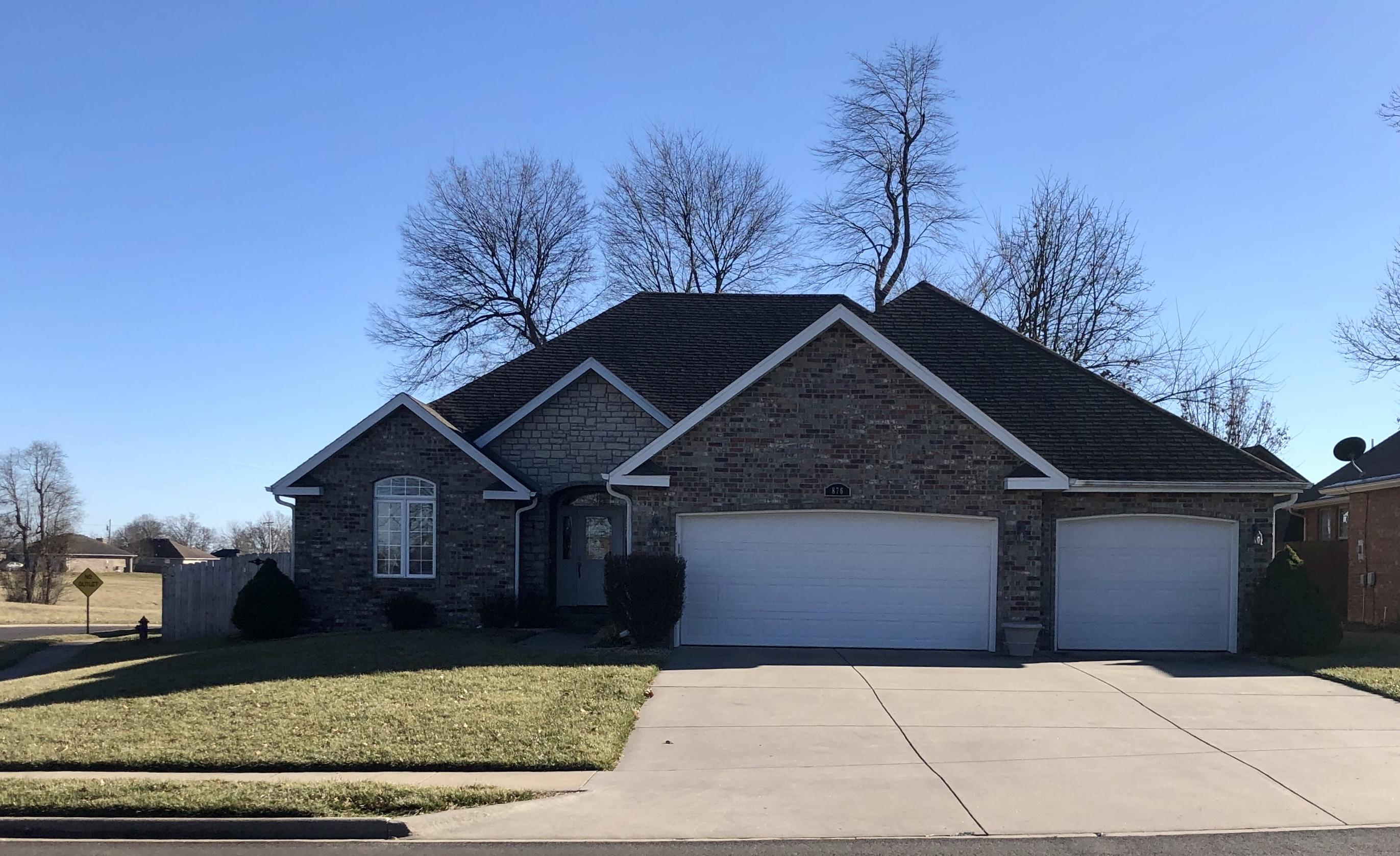 876 Dustin Lane Nixa, MO 65714