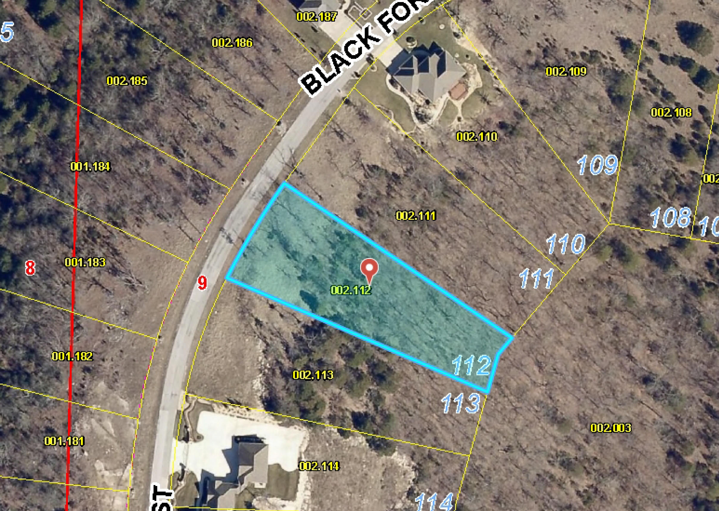 Lot 112 Black Forest Lane Branson West, MO 65737