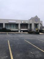 Two story, 13,000 sq. ft. with rear parking lot