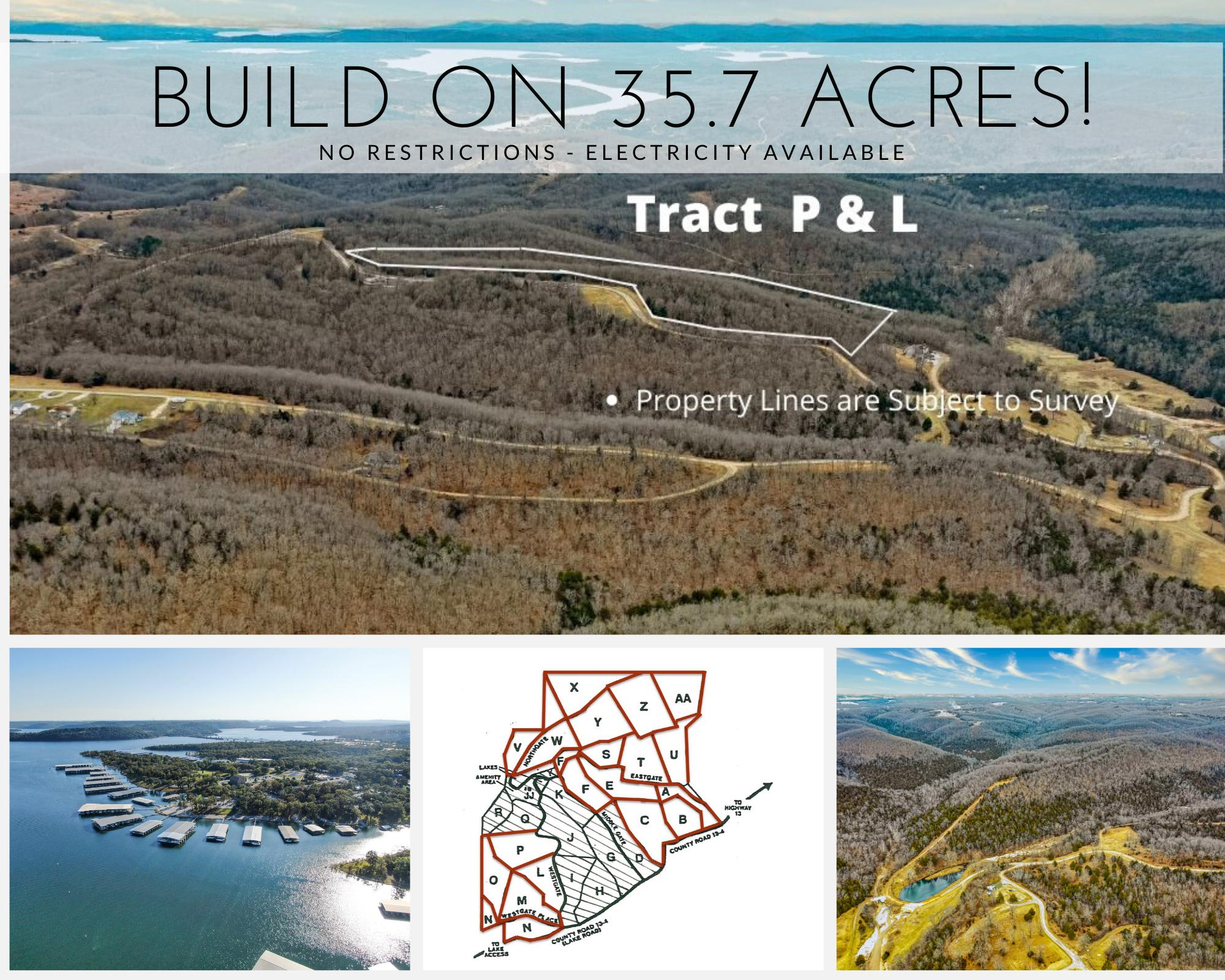 Tract P & L Branson West, MO 65737