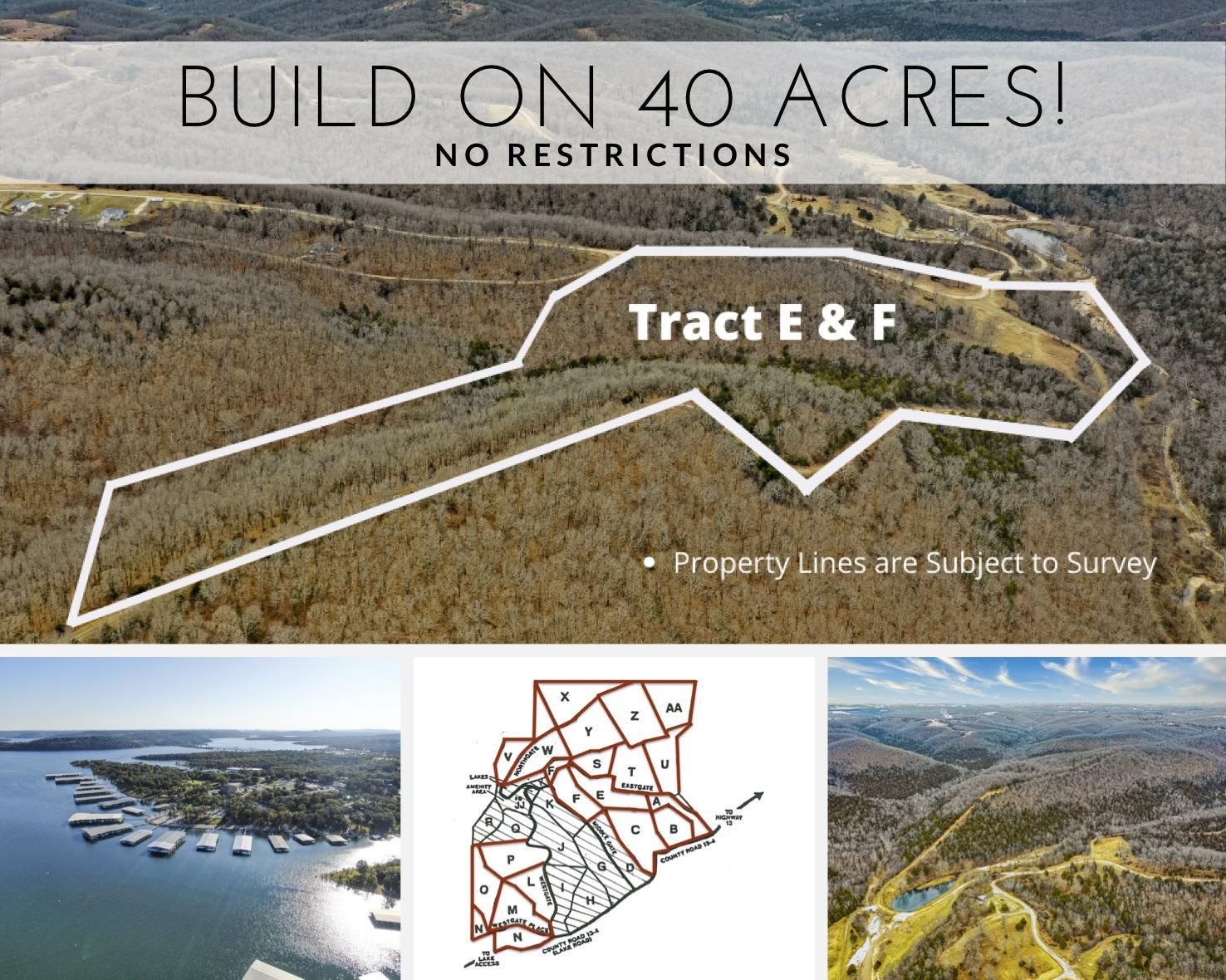 Tract E & F Branson West, MO 65737
