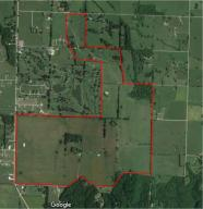 Satellite image of property line. Not exact or surveyed lines.