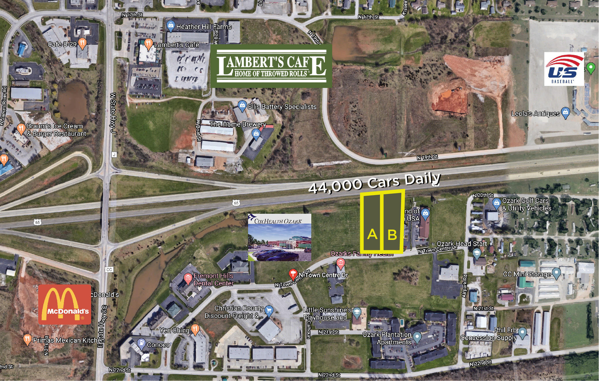 4860-A North Towne Centre Drive Ozark, MO 65721