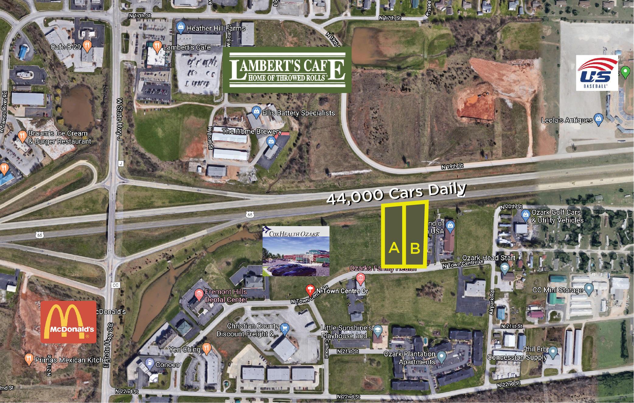 4860-B North Town Centre Drive Ozark, MO 65721