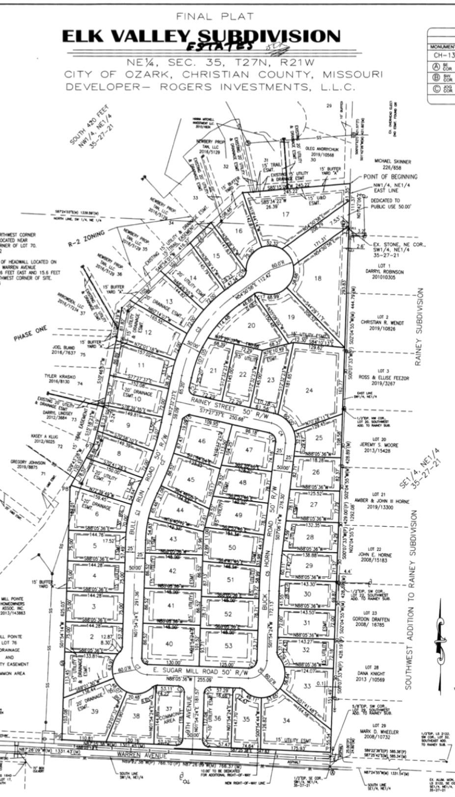 Lot 17 Elk Valley Estates