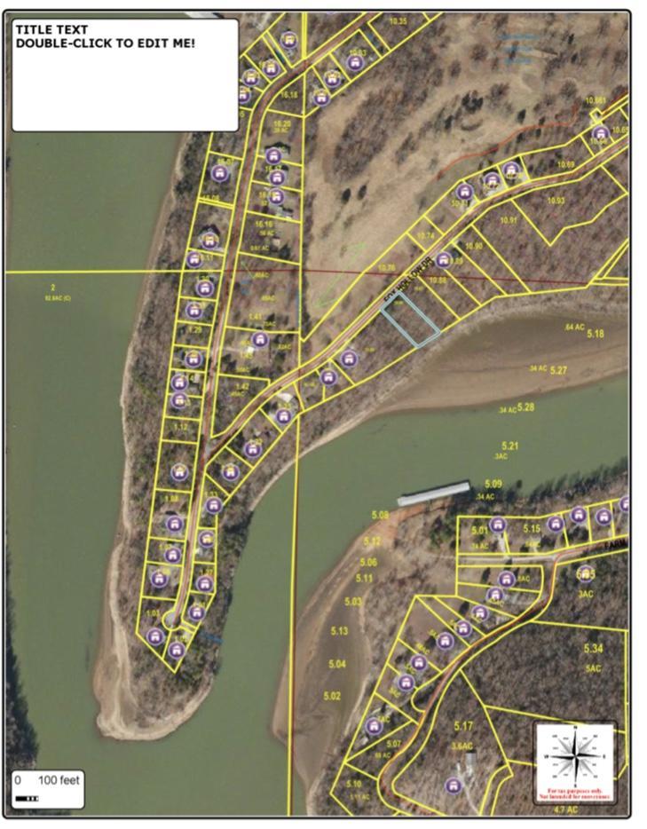 Lot Kings River Beach Shell Knob, MO 65747