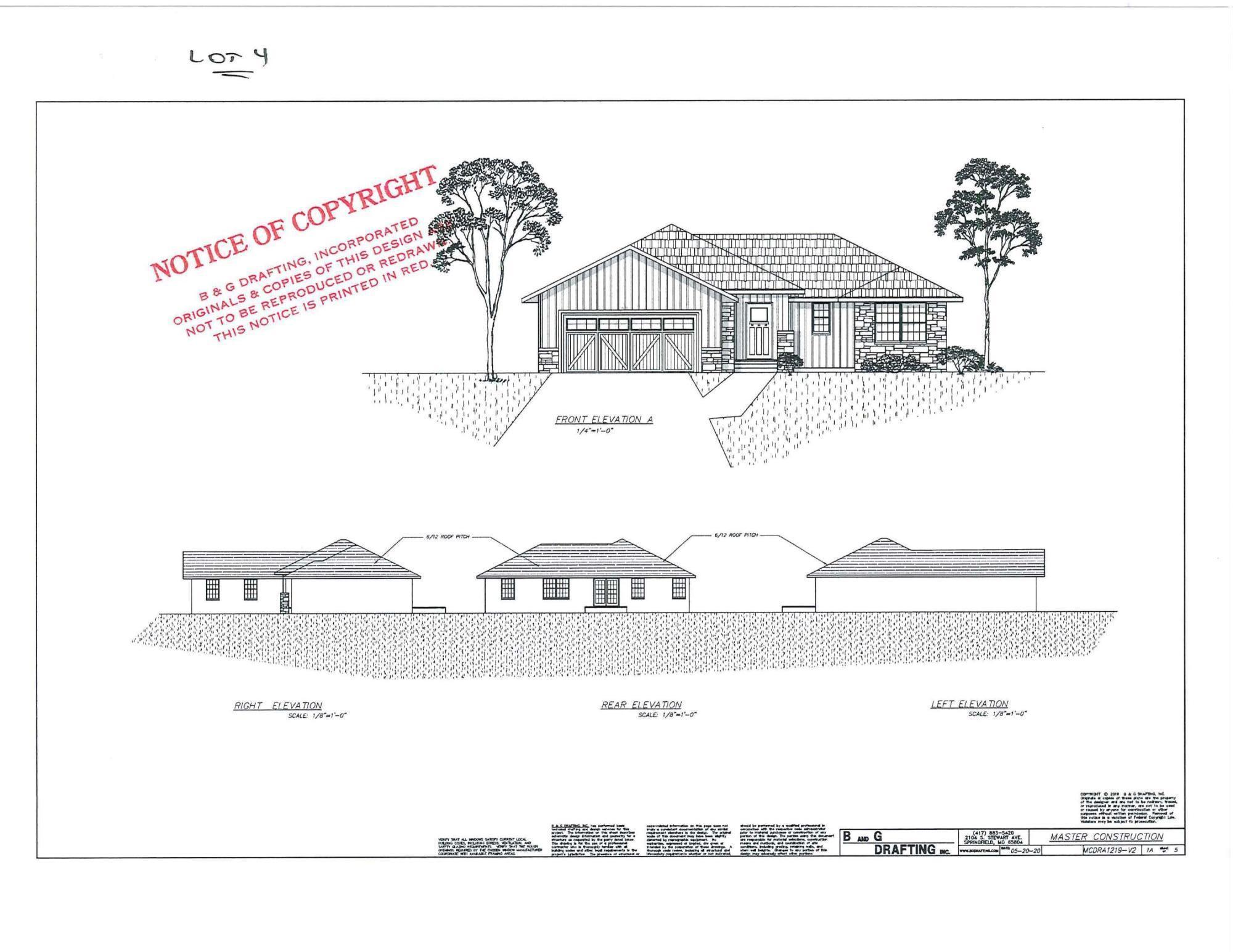 57 West Pine Lane UNIT Lot 4 Reeds Spring, MO 65737