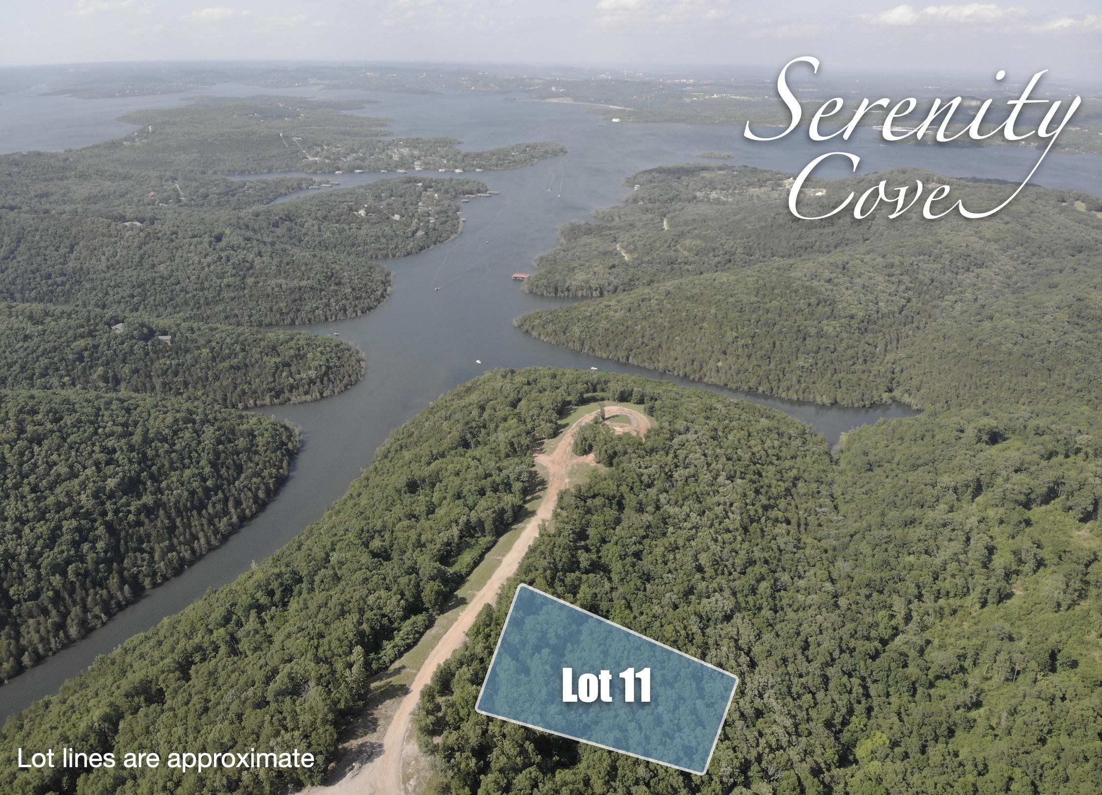 Lot 11 Serenity Cove Drive Blue Eye, MO 65611