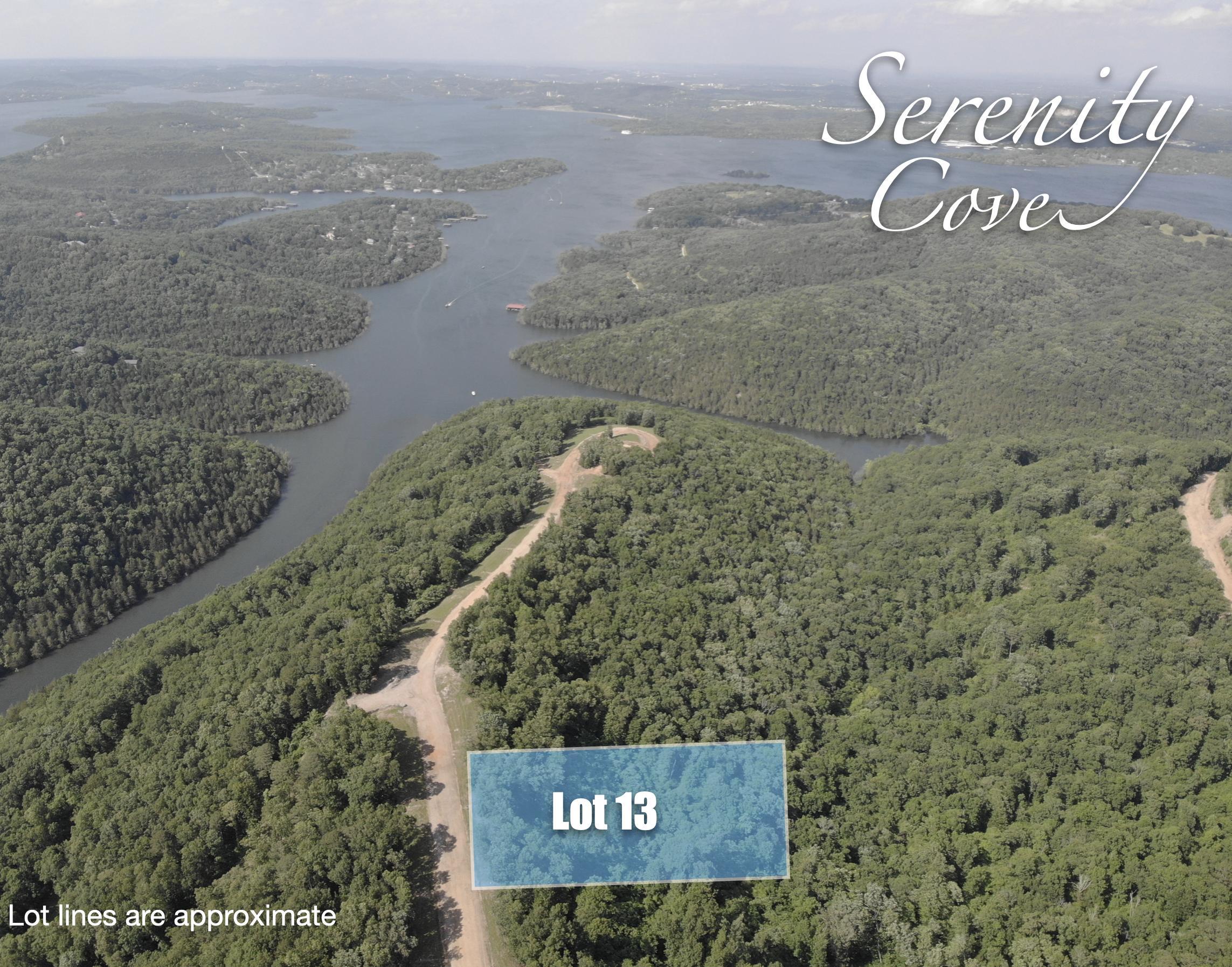 Lot 13 Serenity Cove Drive Blue Eye, MO 65611