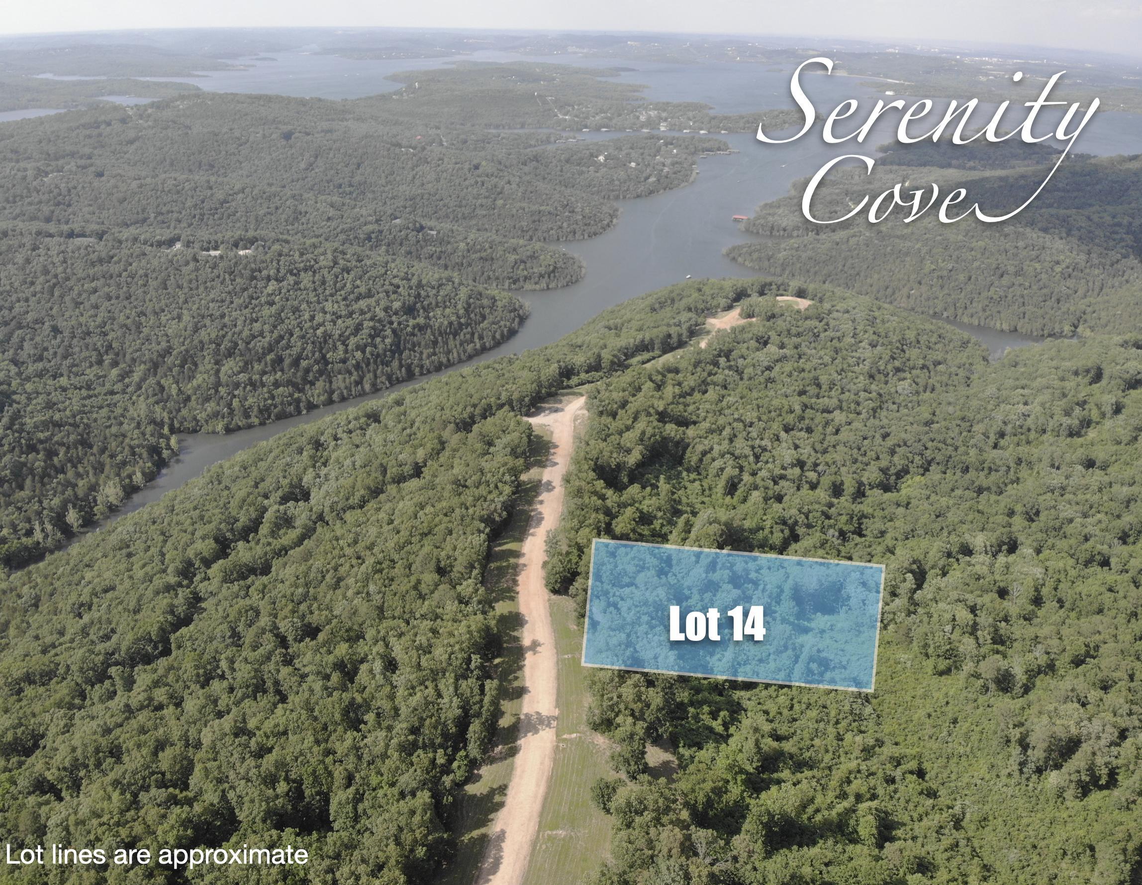 Lot 14 Serenity Cove Drive Blue Eye, MO 65611