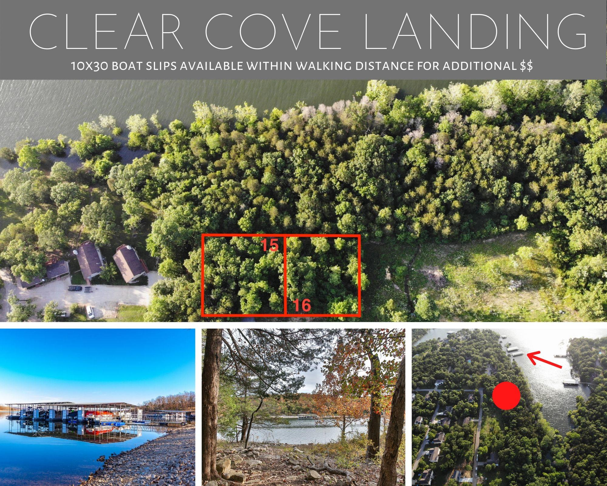 15 & 16 Clear Cove Landing Reeds Spring, MO 65737
