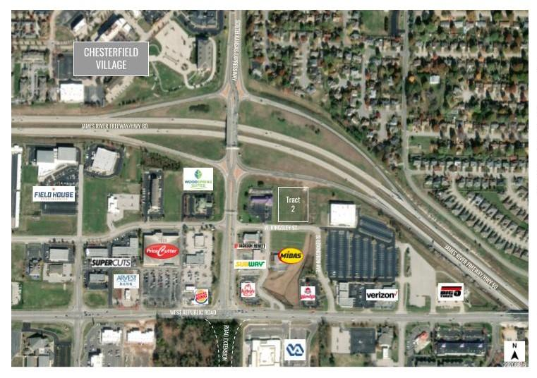 1831 West Kingsley UNIT Entire Lot 12 & Part Springfield, MO 65807