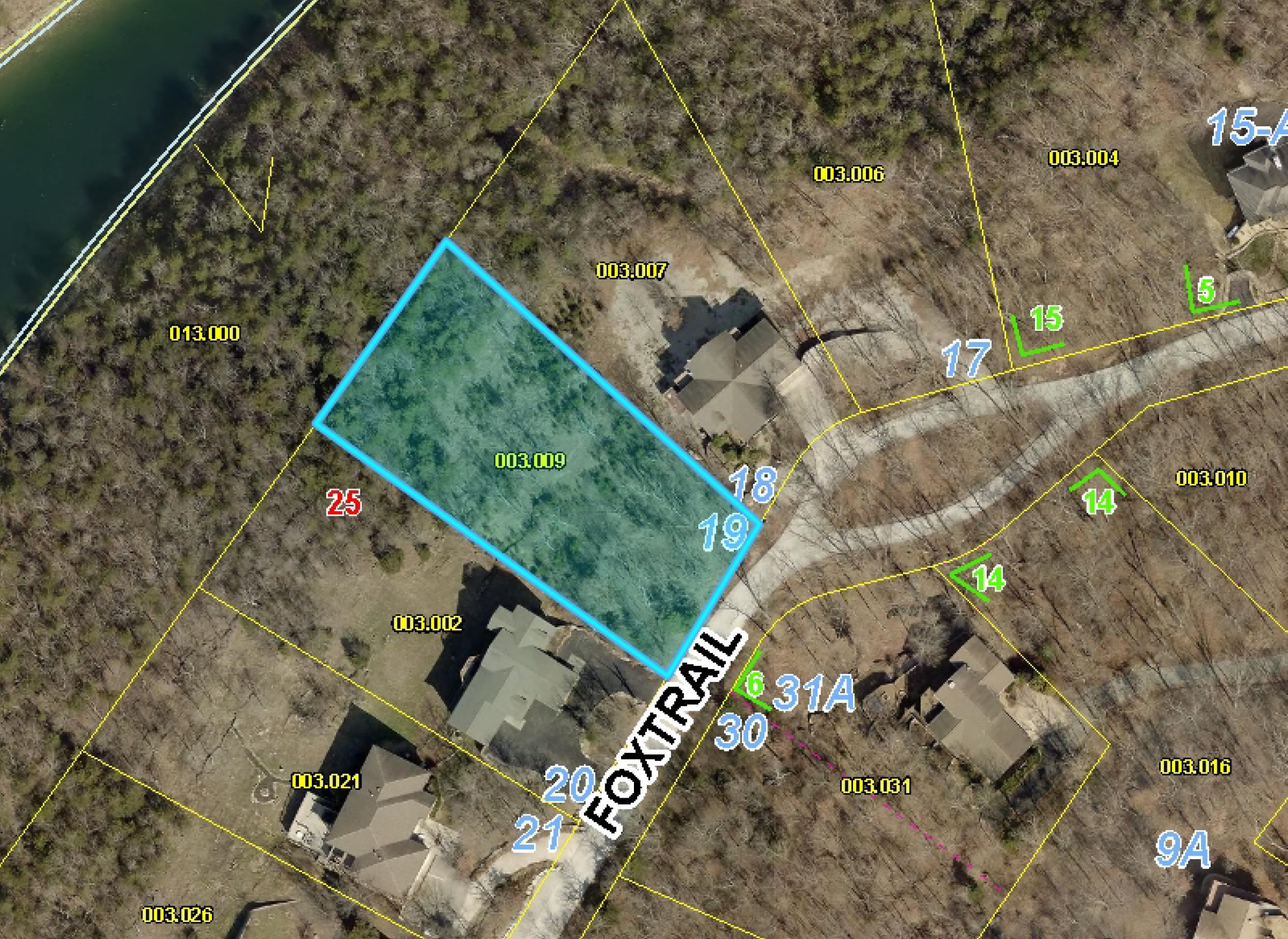 Lot 19 Foxtrail Drive Reeds Spring, MO 65737