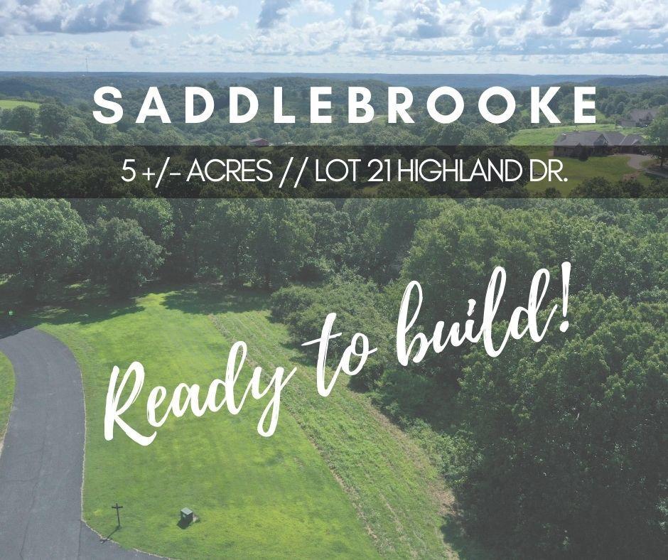 000 Highland Drive UNIT Lot 21 Saddlebrooke, MO 65630