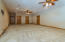 Basement living recreation room is amazing 40 x 25 with adjoining bath