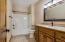 Basement bath room