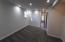 in basement