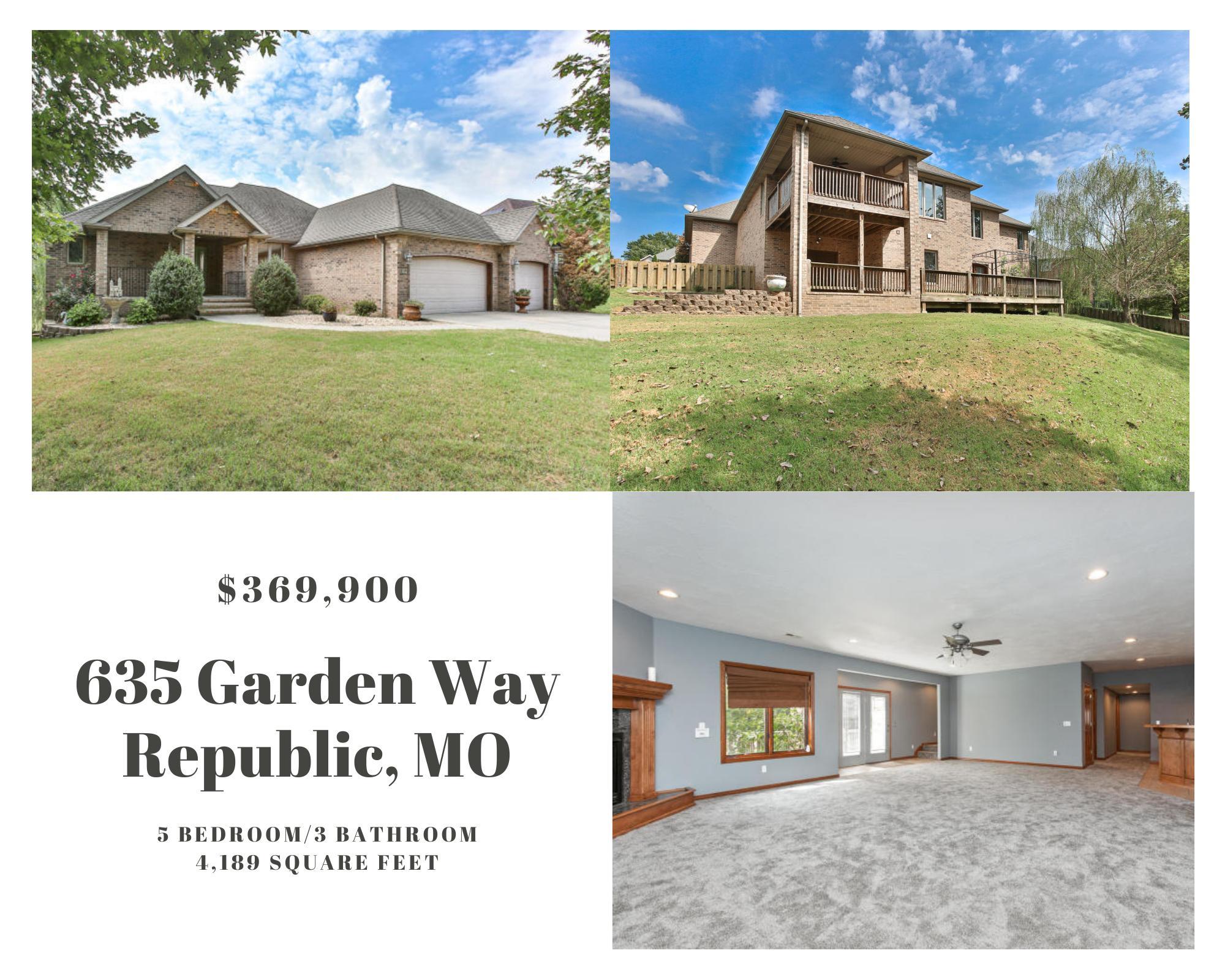 635 South Garden Way Republic, MO 65738
