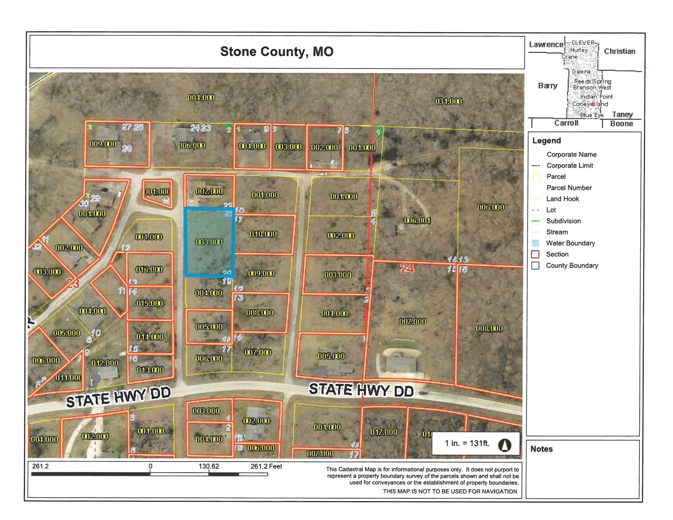 000 Blue Water Village Reeds Spring, MO 65737