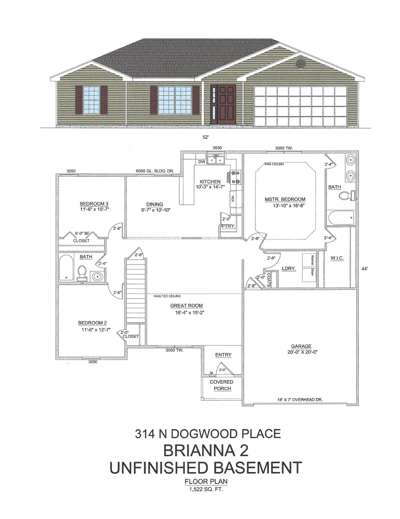 314 Dogwood Place Branson West, MO 65737
