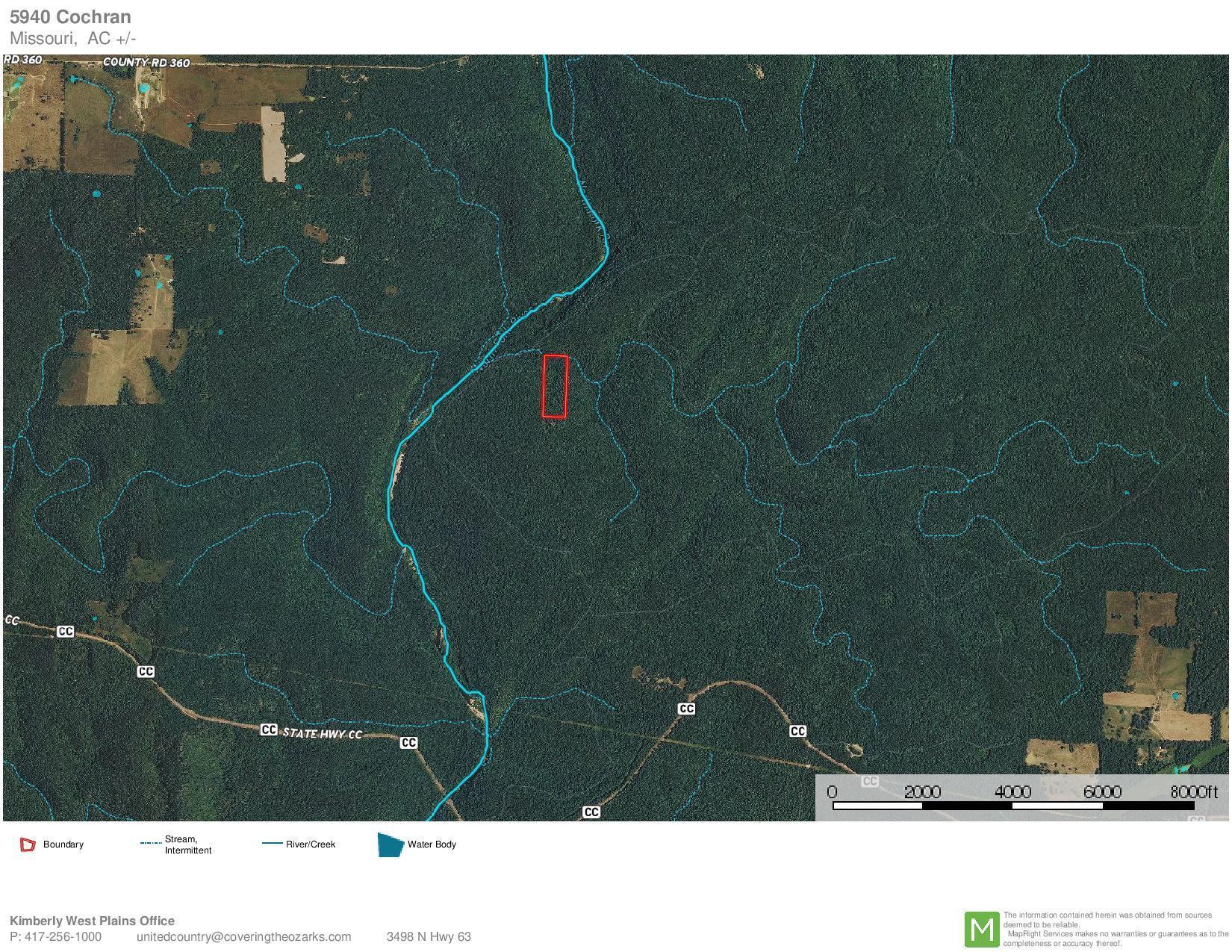 Tbd White River Wilderness Dora, MO 65637