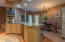 Multiple areas to gather in this amazing kitchen!