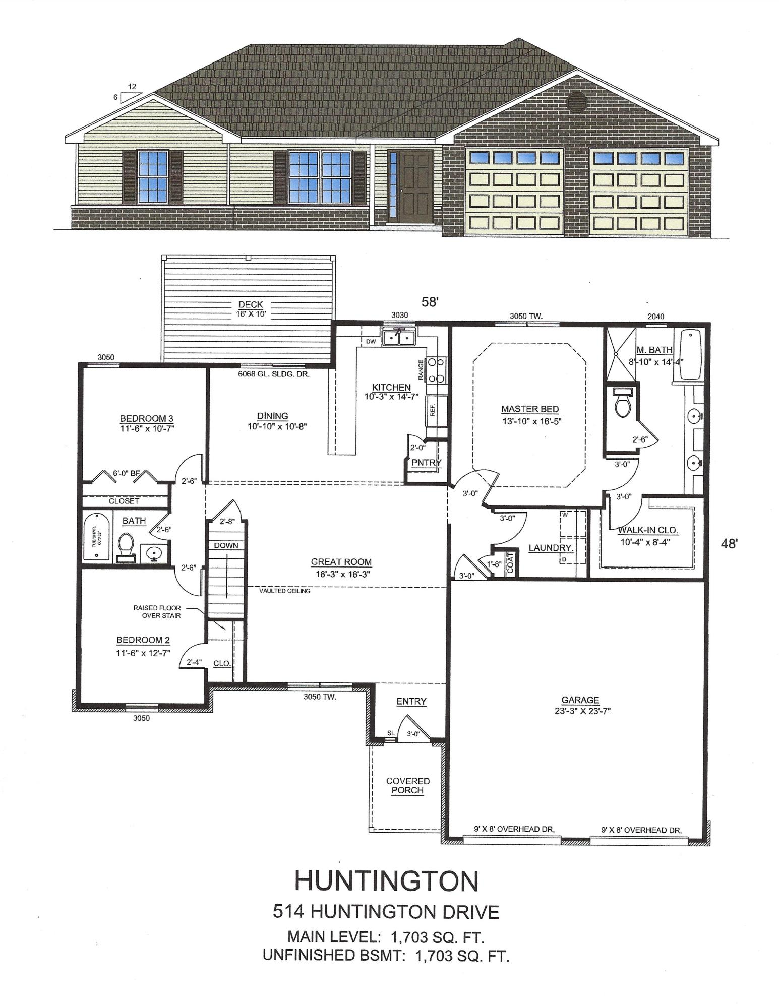 514 Huntington Drive UNIT Lot 7 Branson, MO 65616