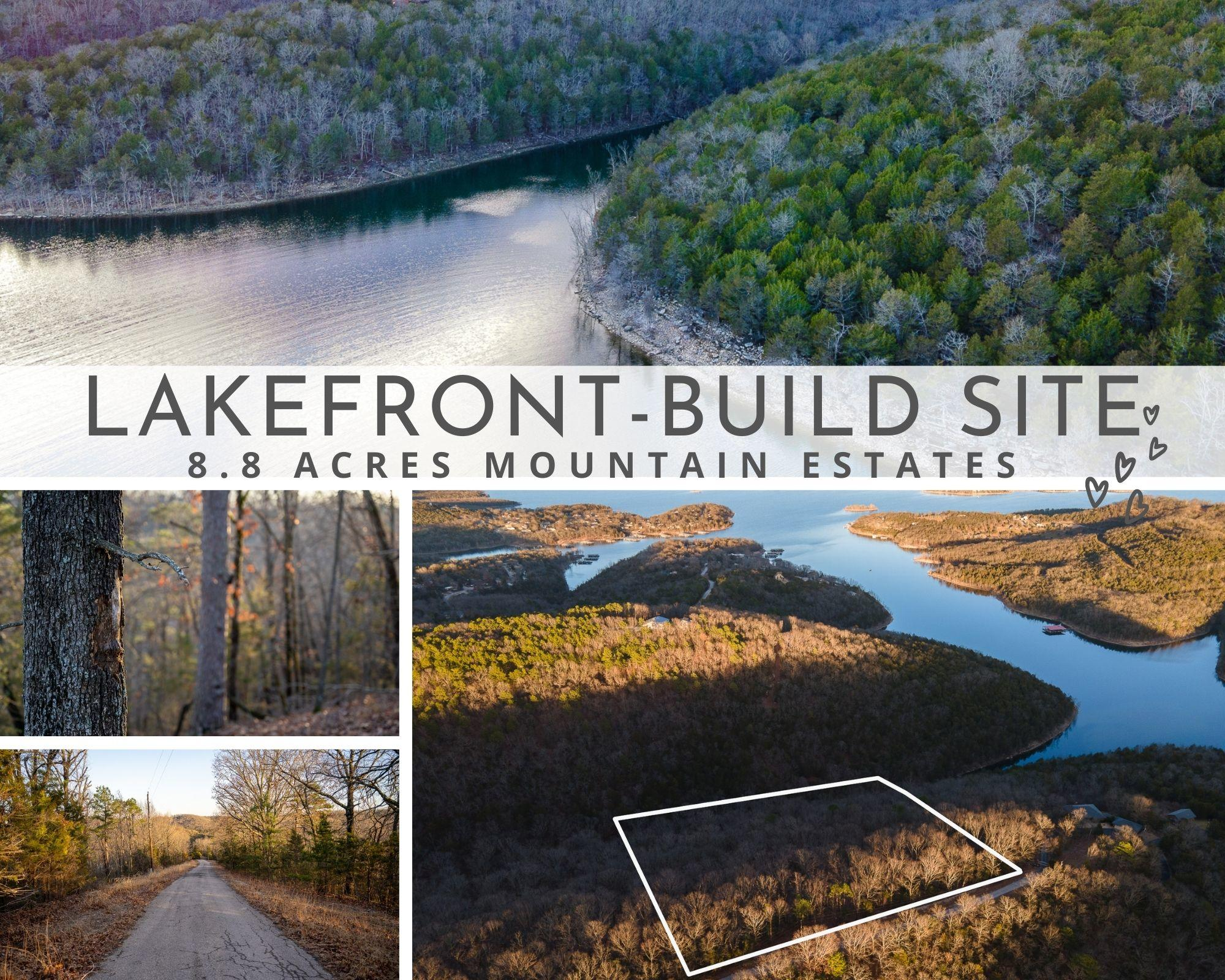 8.8 Acres Mountain Estate Drive Blue Eye, MO 65611