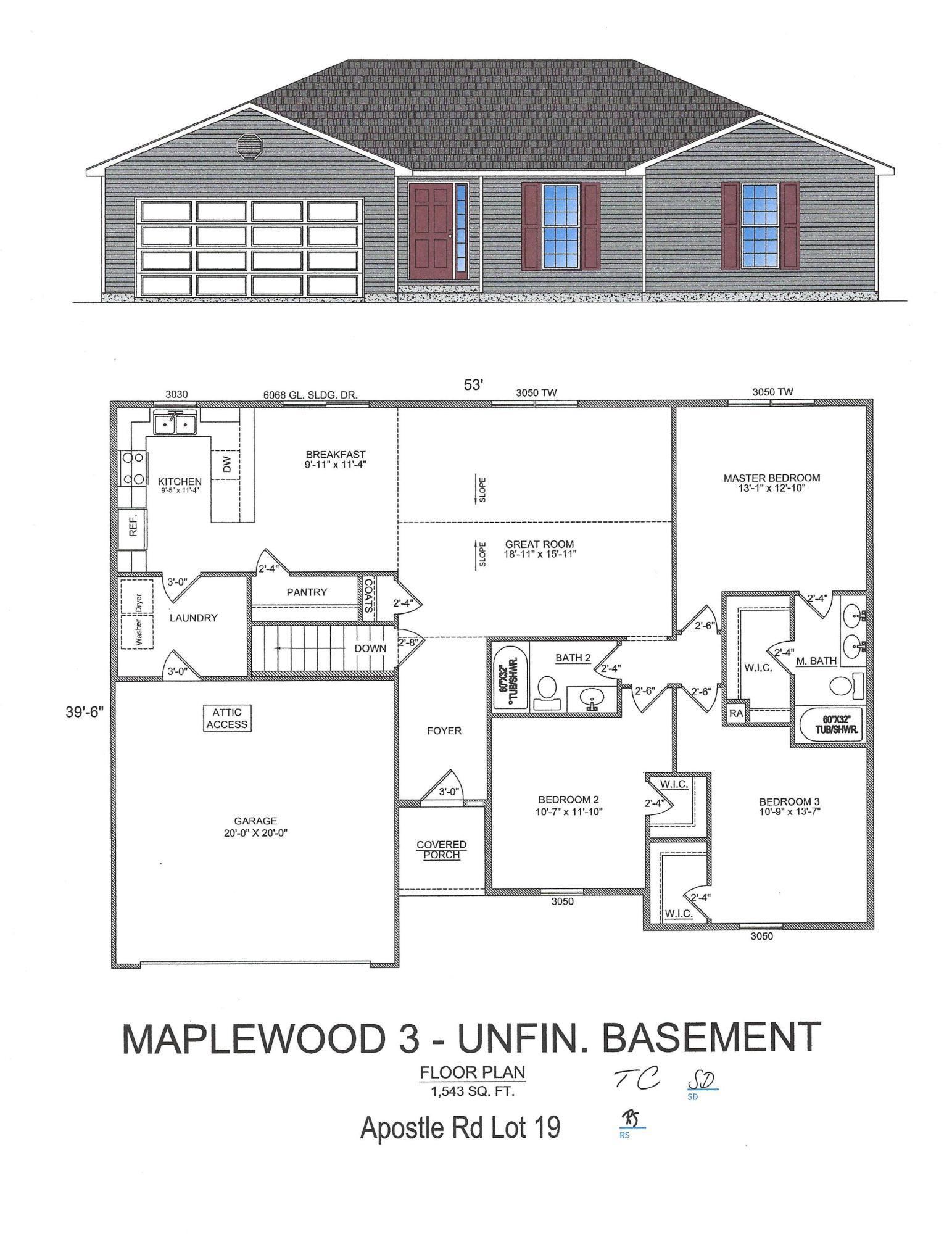 000 Apostle Lane UNIT Lot 19 Reeds Spring, MO 65737
