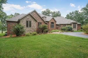 Gorgeous walk-out basement home on 10 acres