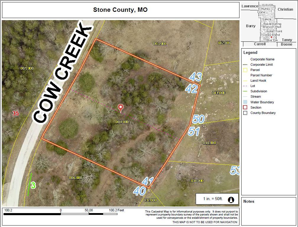 000 Cow Creek Road Blue Eye, MO 65611
