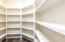 Walk in pantry, so spacious!