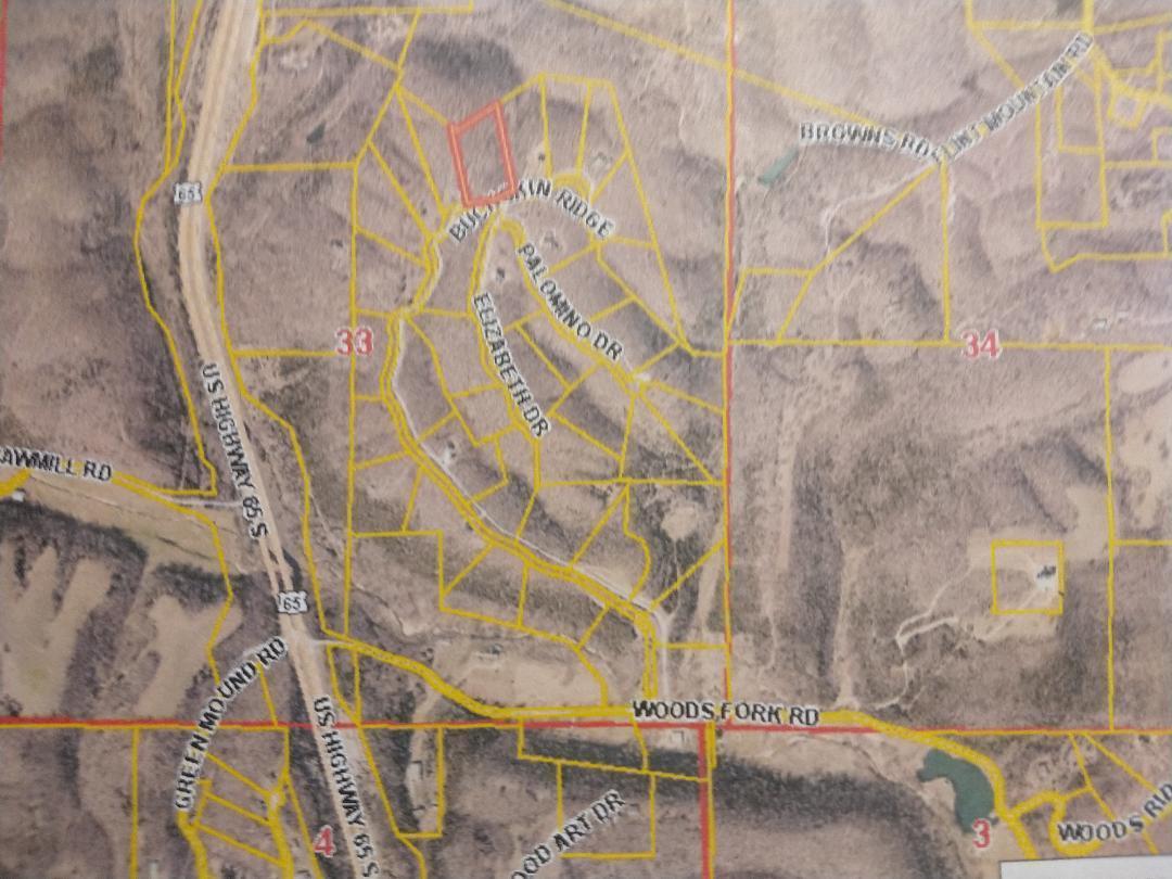 Property for sale at 000 Buckskin Ridge (5.04 Acres) Unit: (Lot 35), Highlandville,  Missouri 65669