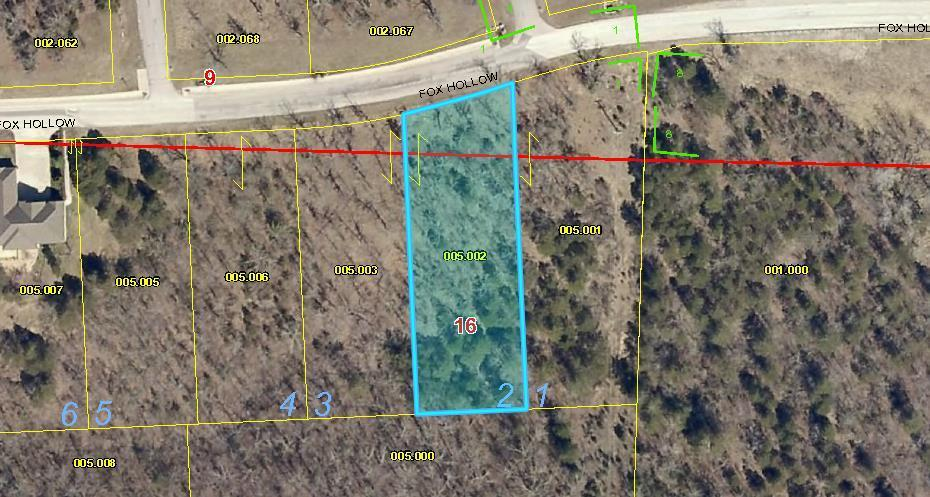 Lot 2 Fox Hollow Road Branson, MO 65616