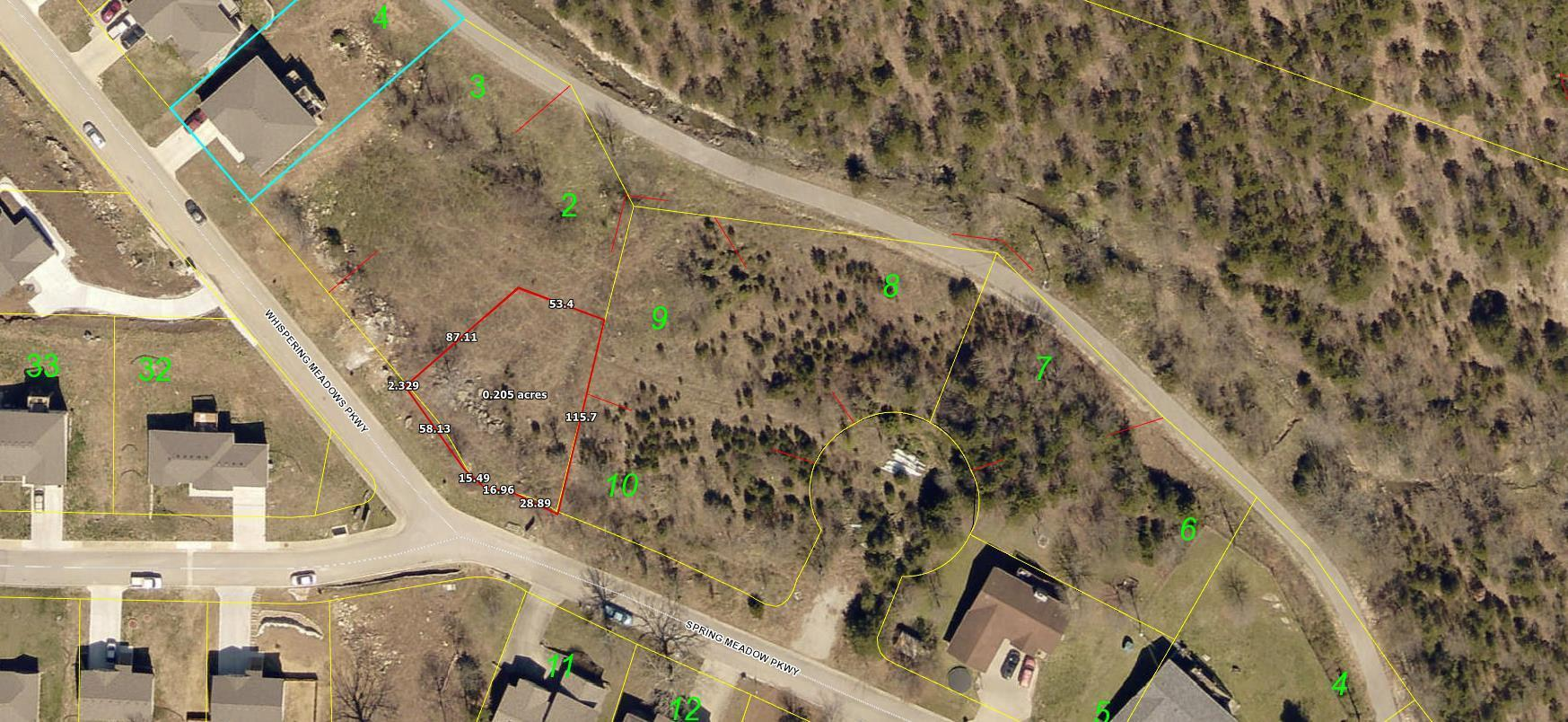 000 Whispering Meadows Parkway UNIT Lot 1 Branson, MO 65616