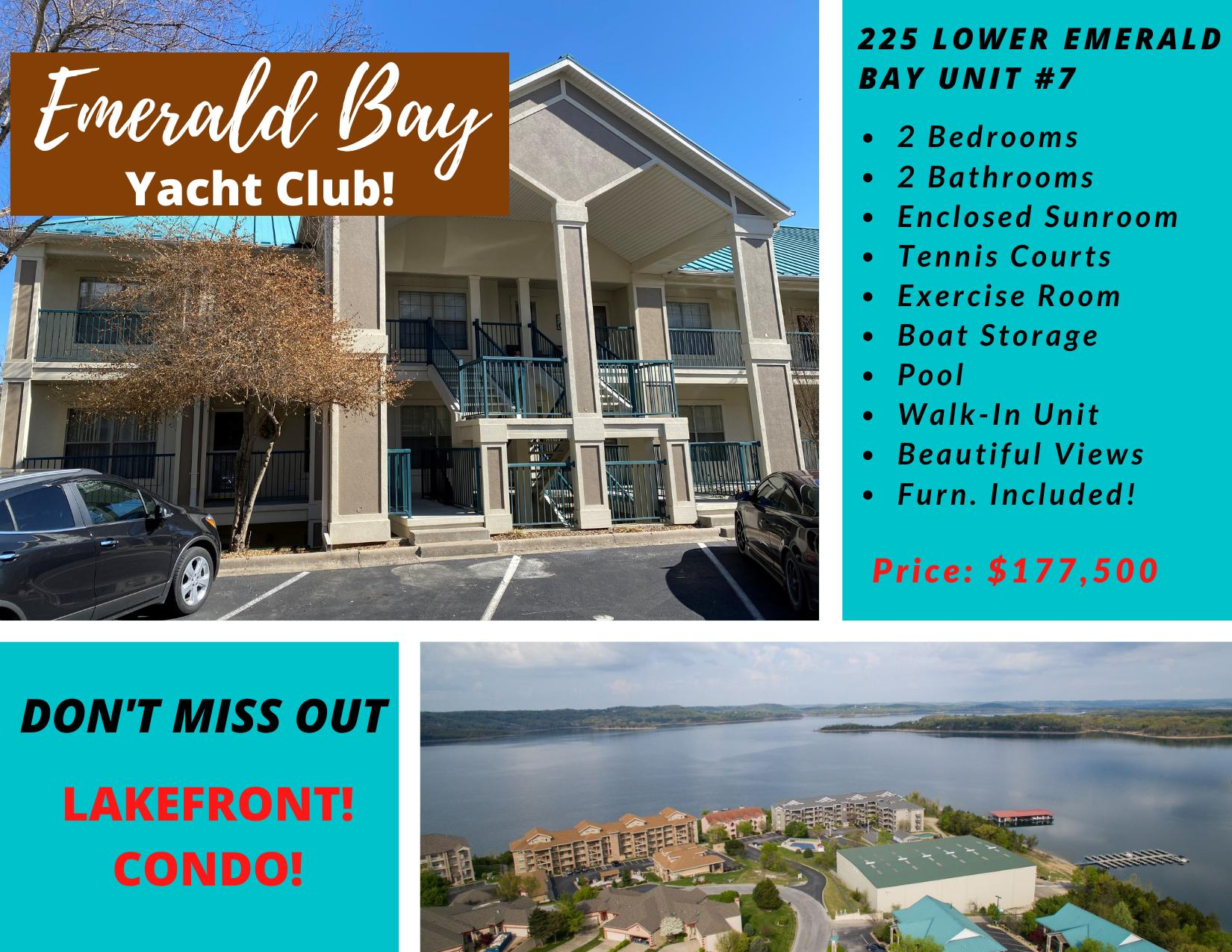 225 Lower Emerald Bay Circle UNIT #7 Hollister, MO 65672