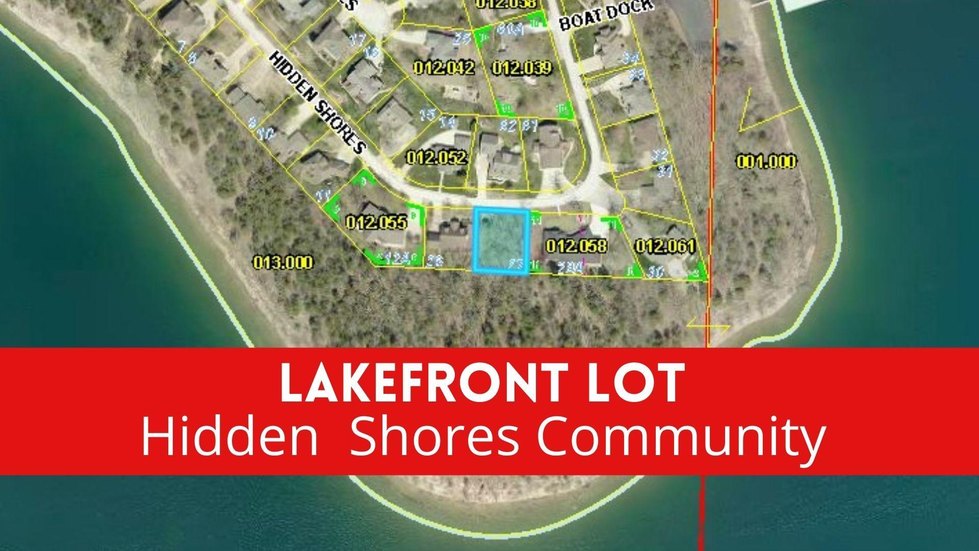 Tbd Hidden Shores Lot Drive Branson West, MO 65737